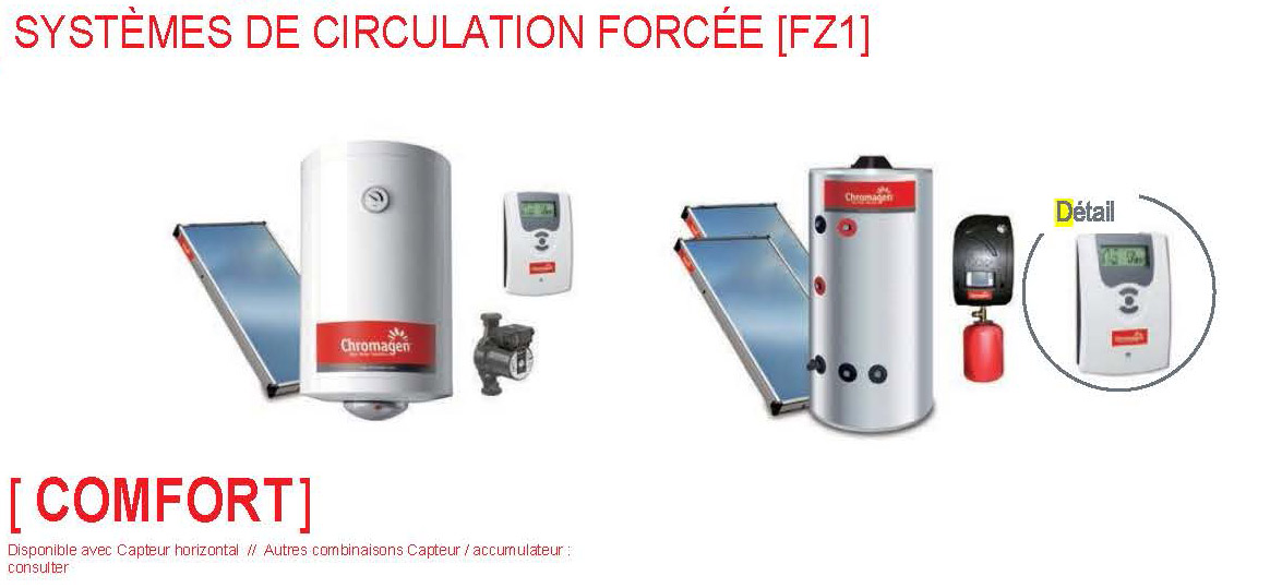 CHROMAGEN solaire thermique2 - Génération solaire services - Génération solaire services