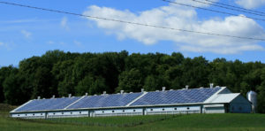 solaire panneau ferme 300x148 - Galerie montage installation panneaux solaires photovoltaïques - Galerie montage installation panneaux solaires photovoltaïques