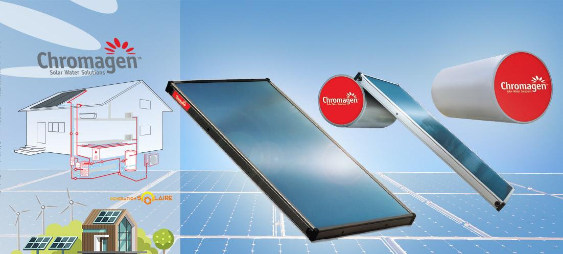 solaire thermique aerovoltaique 1 - Gamme Solaire Thermique Chromagen - Gamme Solaire Thermique Chromagen